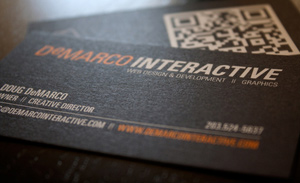 DeMarco Interactive Business Card Design